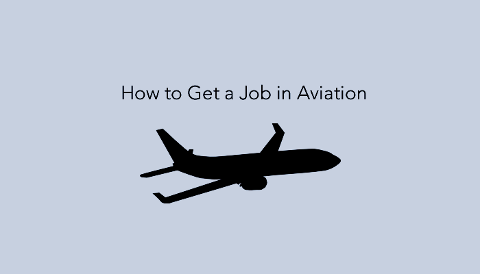How to get Aviation jobs