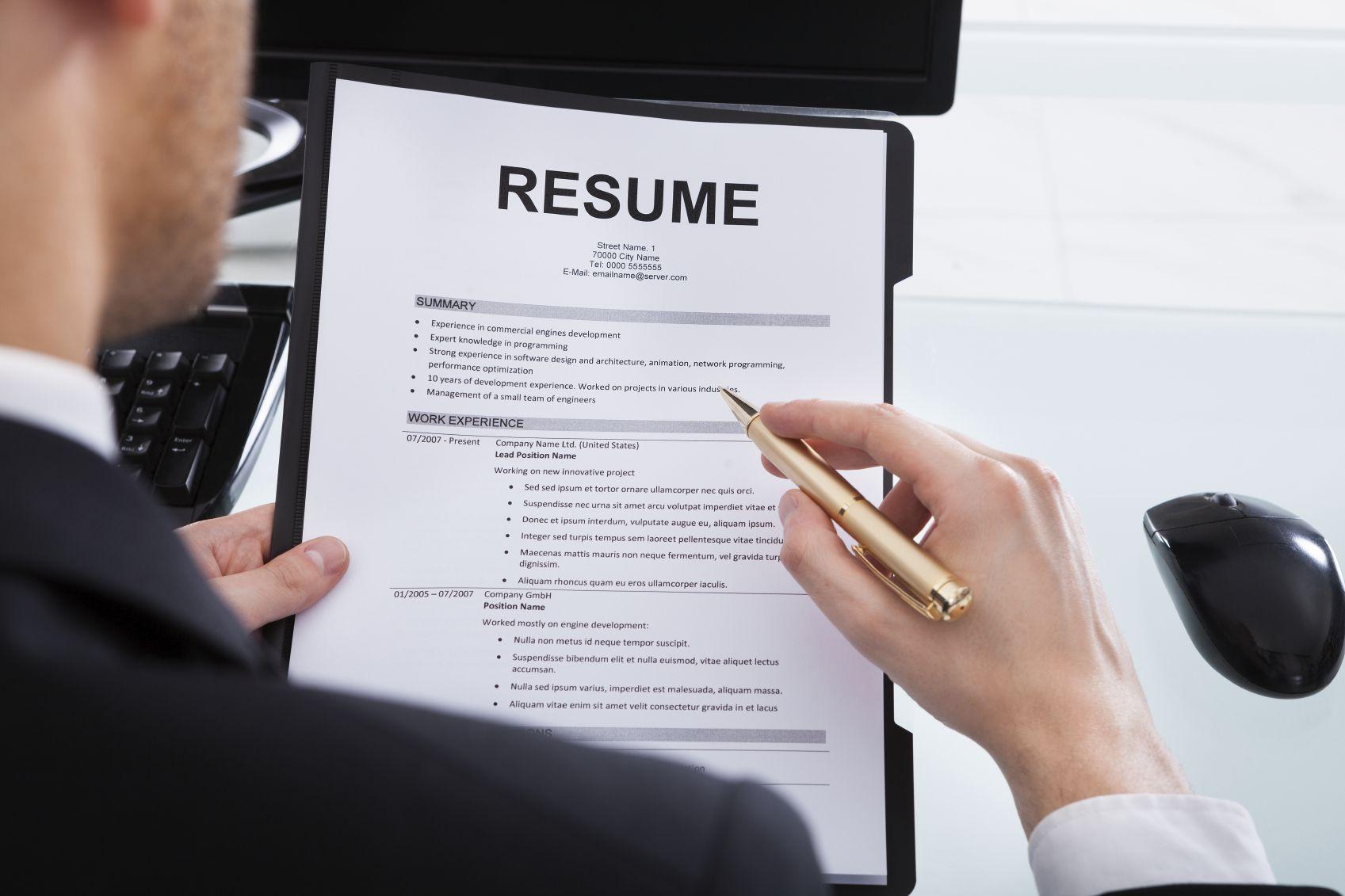 Aviation resume - Flight job Blog